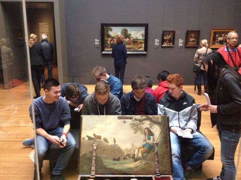 vwo5 bezoekt het Rijksmuseum in Amsterdam