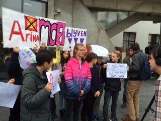 Het Gregorius College steunt Arina Kydyrova en haar familie