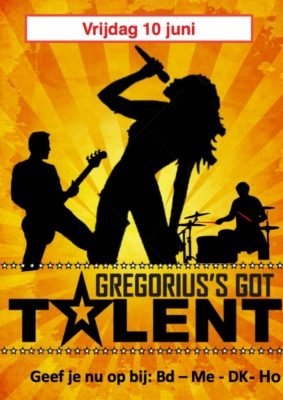 GREGORIUS's GOT TALENT!!!