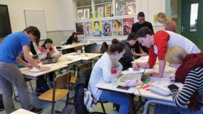 Zweet en gezelligheid tijdens de Gregorius wiskundedag 2018