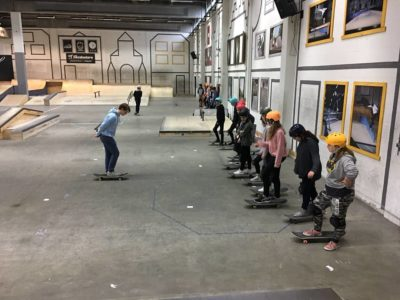 Skatepark and dance for the ISG first years